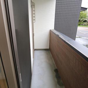 バルコニー ※写真は、同じBタイプの1階です。